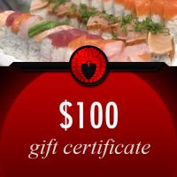 $100 Kabuki Romanza Gift Certificate